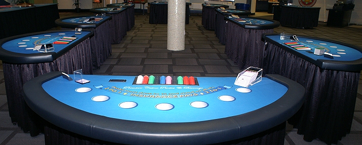 Blackjack Casino Tables